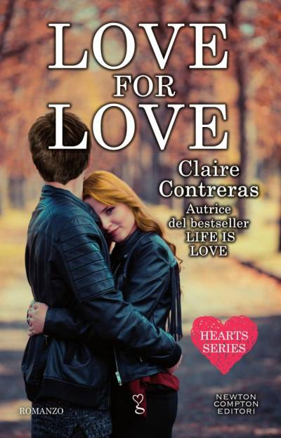Claire Contreras Love for love - copertina