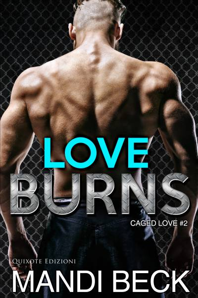 copertina di Love burns