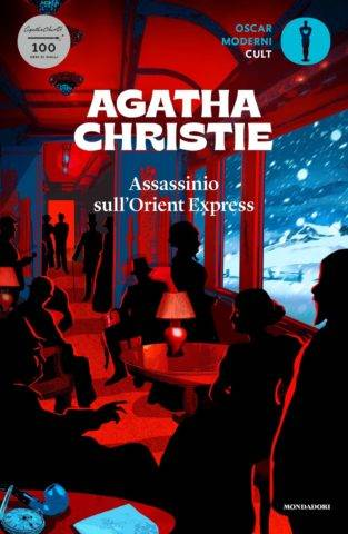 Agatha Christie Assassinio sull'Orient Express  - copertina